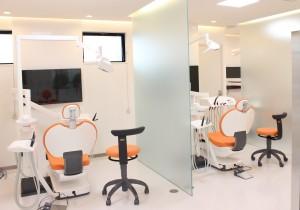 第二診療室の歯科医院画像