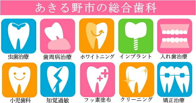 あきる野・西多摩郡日の出町の歯医者|きらら歯科|矯正・インプラント