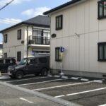 医院東側駐車場