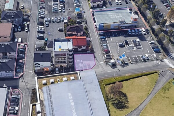 医院増設工事に伴う駐車場位置の変更について
